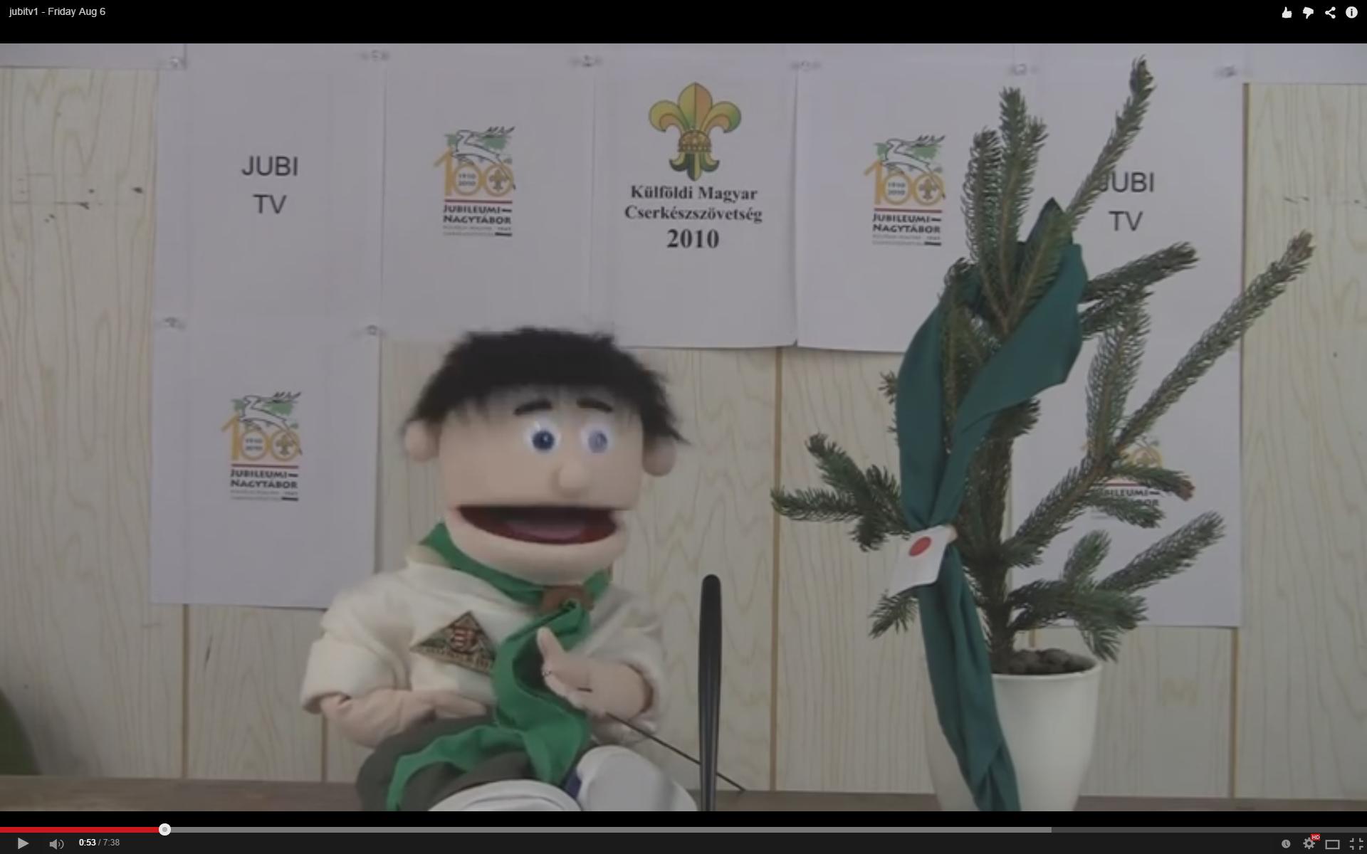 JubiTV 2010 – 1. rész – aug. 5