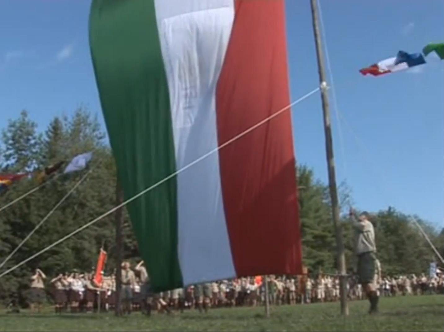 Jubileumi cserkésztábor Amerikában 2010