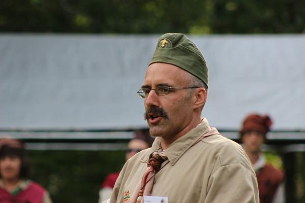 Szentkirályi Endre  Jubileumi Nagytábor táborparancsnoka