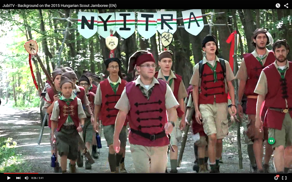 JubiTV – Background on the 2015 Hungarian Scout Jamboree (EN)