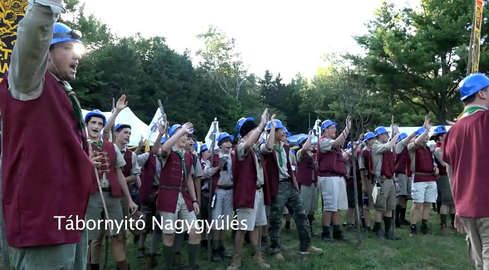 JubiTV – Tábornyitás, zászlófelvonás