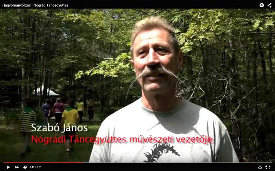 JubiTV – Hagyományőrzés | Nógrád Táncegyüttes