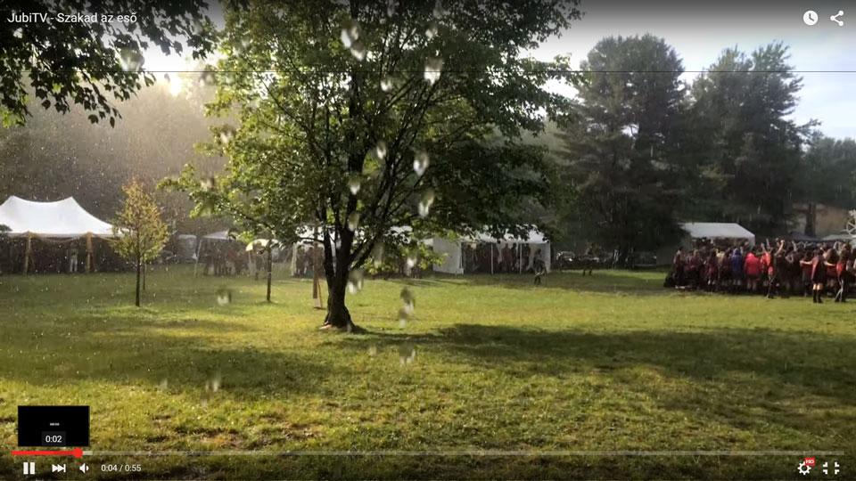 JubiTV – Szakad az eső