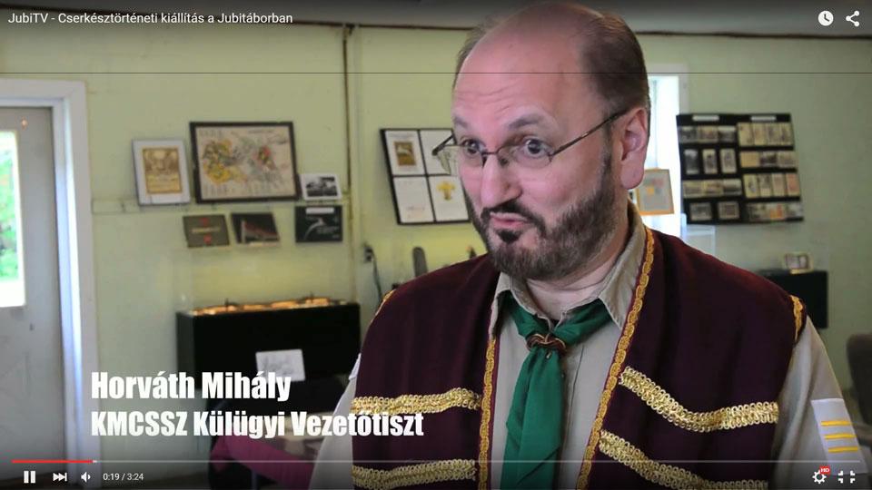JubiTV – Cserkésztörténeti kiállítás a Jubitáborban